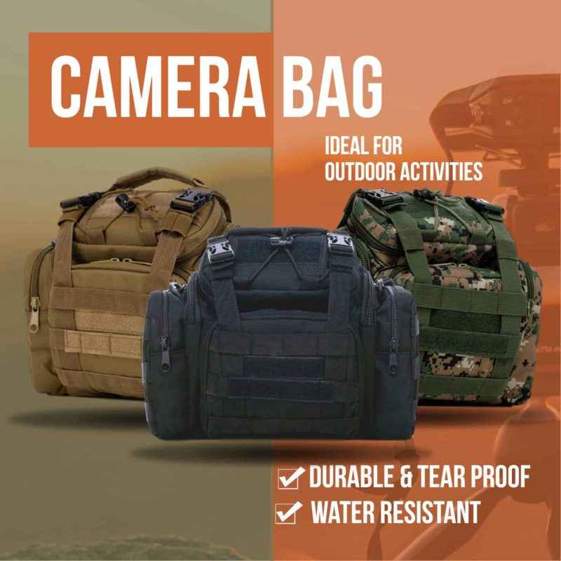 Tactical Camera Bag From Breezbox
