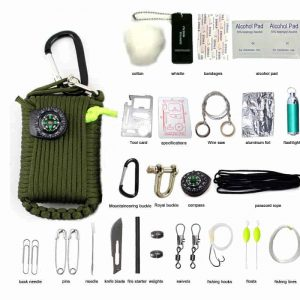 29-in-1 Wilderness Survival Kit for Hiking