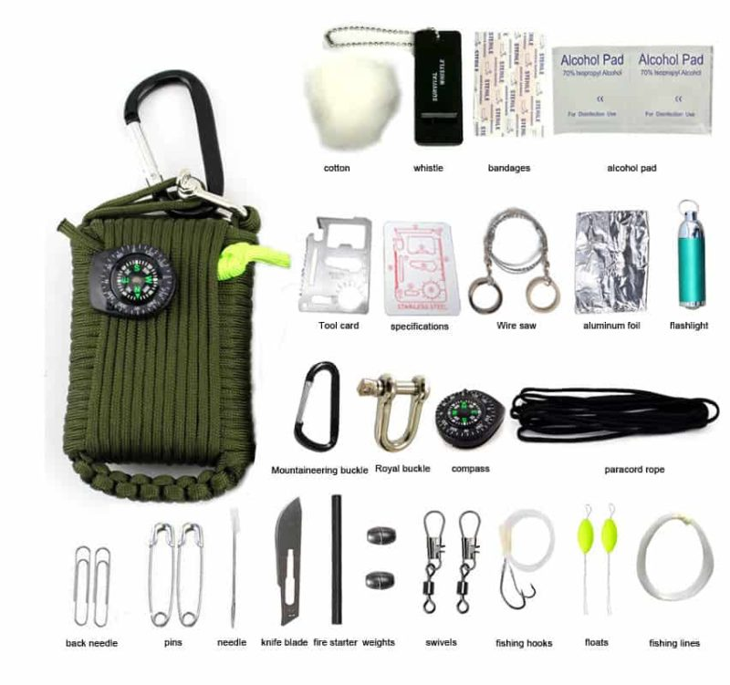 Breezbox Survival Kit Hiking
