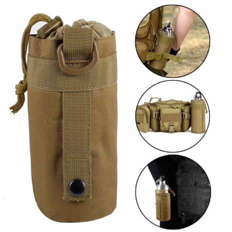 porte-bouteille d'eau pour sac à dos-MOLLE