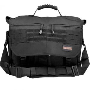 Humvee Tactical Hiking Brief Case Black