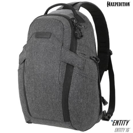 Maxpedition Entity 16 CCW Enabled EDC SlingPack 16L Charcoal