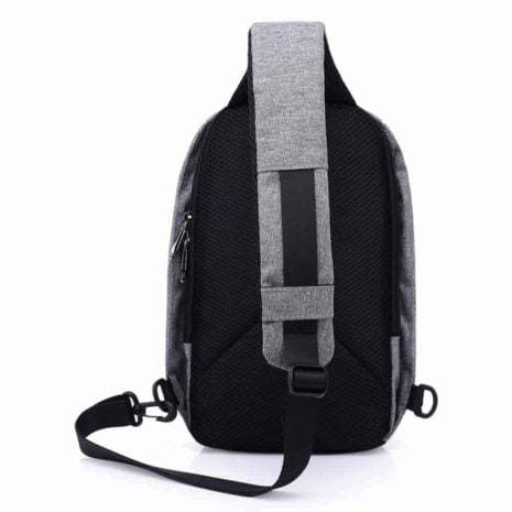 Breazbox anti theft sling bag back view