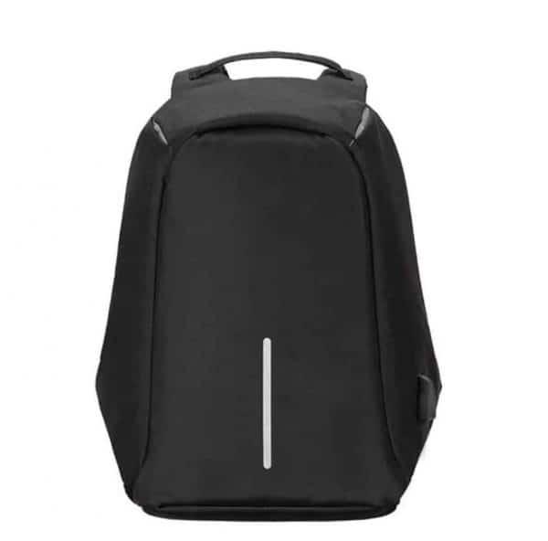 Breezbox anti theft backpack black