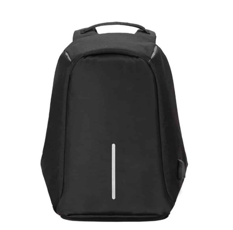Breezbox anti theft backpack black