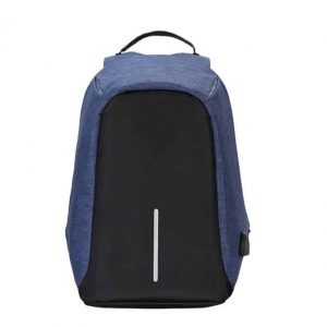 Breezbox anti theft backpack blue