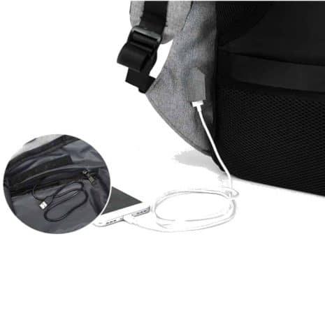 Breezbox, sac à dos antivol rechargeable