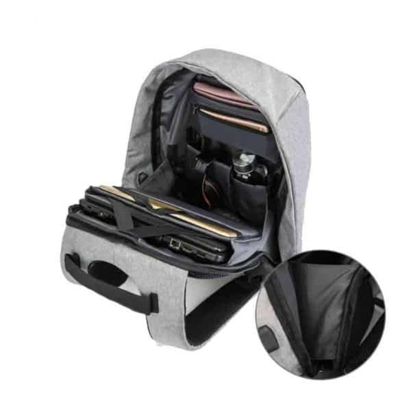 Breezbox anti theft laptop backpack