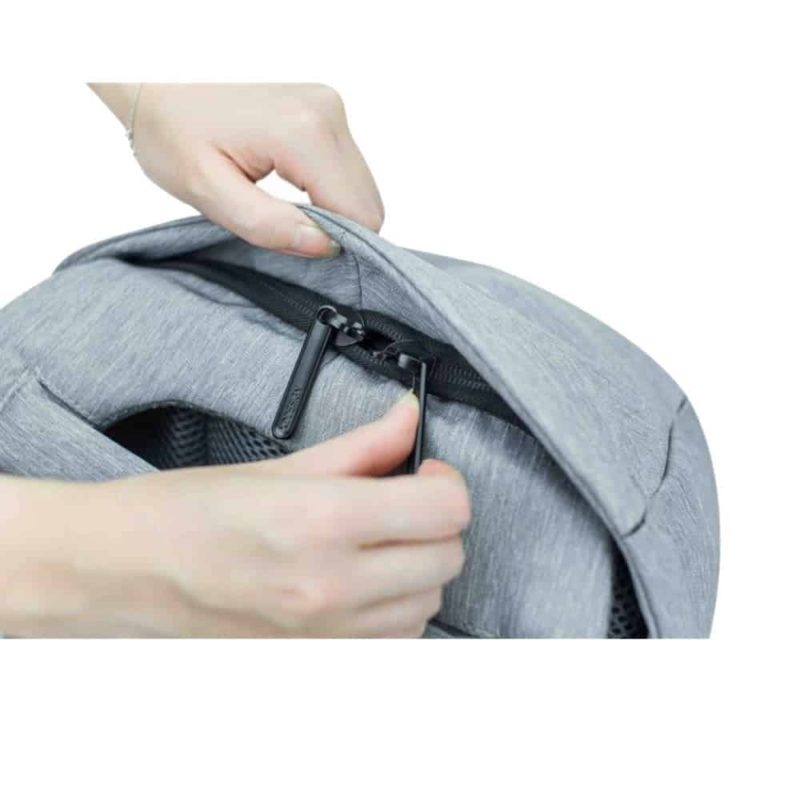 Breezbox zipper hidden backpack