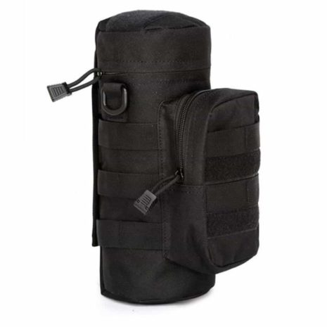 Water bottle pouch Molle - Black