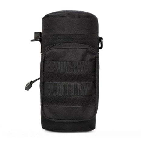 water bottle pouch for backpack Black