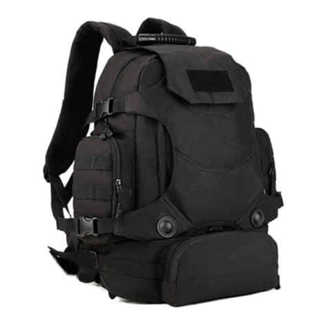 black marine corps school backpack