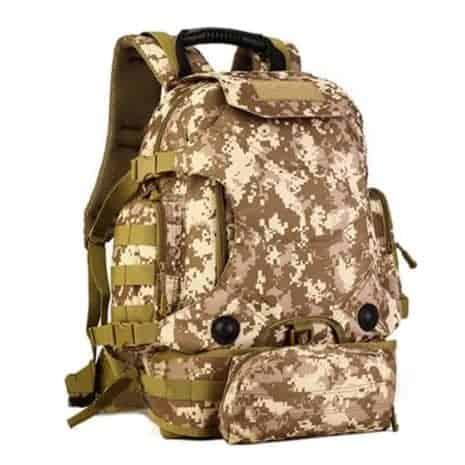 Breazbox desert digital marine corps backpack