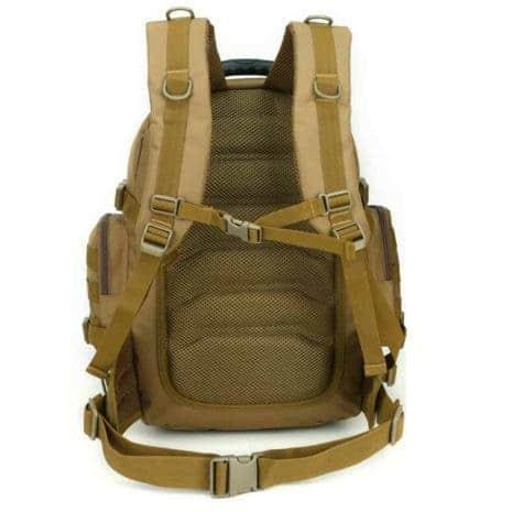 Breazbox marine corps rucksack back view