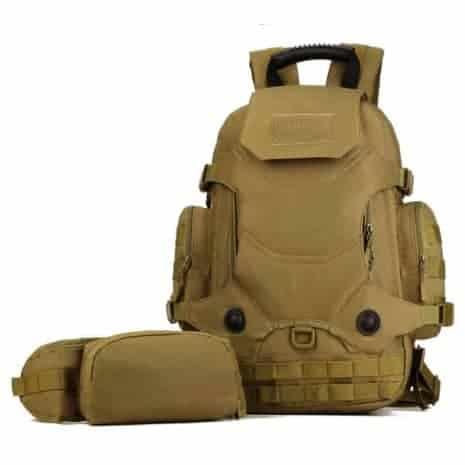 Breazbox marine corps rucksack front view