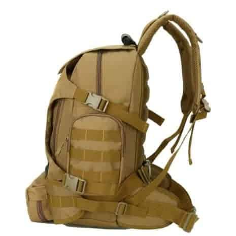 Breazbox marine corps rucksack side view