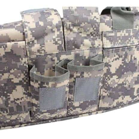 Breazbox soft scoped rifle case for hunting side view