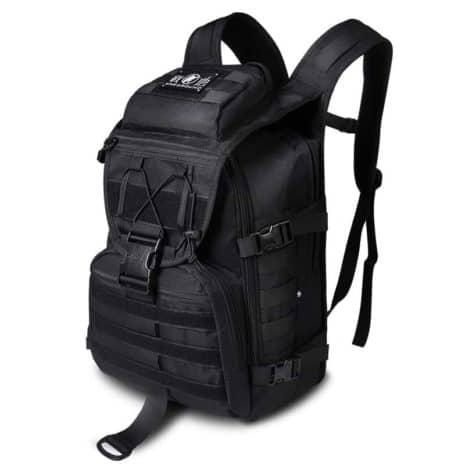 Breezbox black tactical laptop backpack