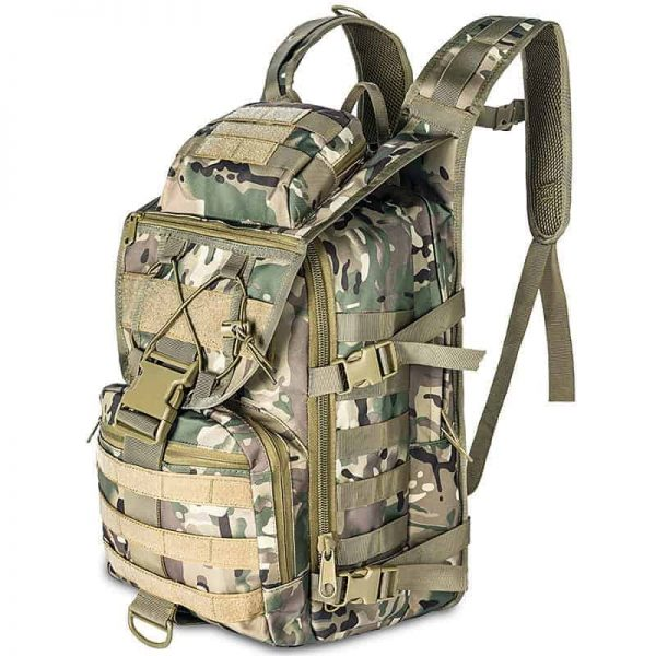 Breezbox cp camouflage tactical laptop backpack