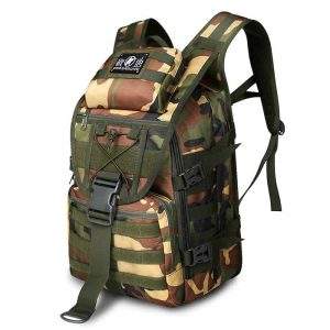Breezbox jungle camouflage tactical laptop backpack
