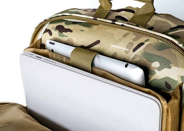 Breezbox tactical backpack with laptop compartment