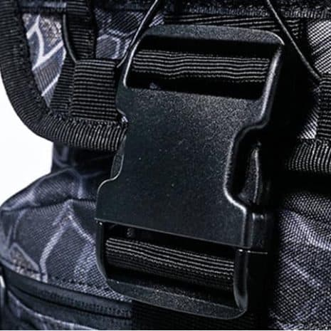 Breezbox tactical laptop backpack quality buckle