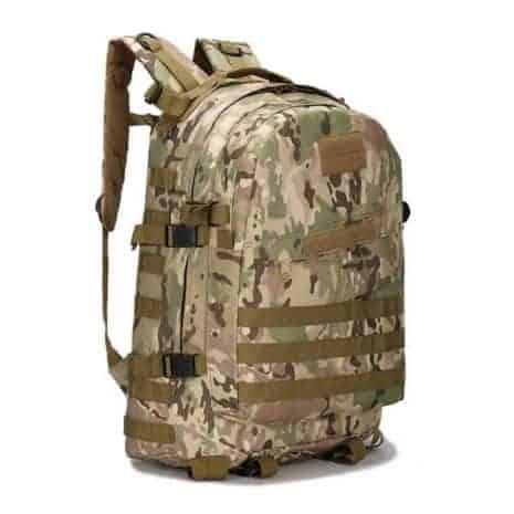 Camouflage assault pack