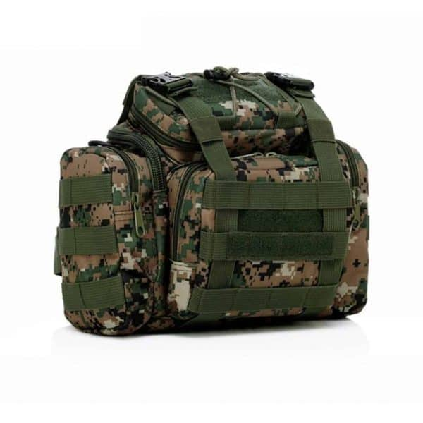 Jungle style camera bag - front view