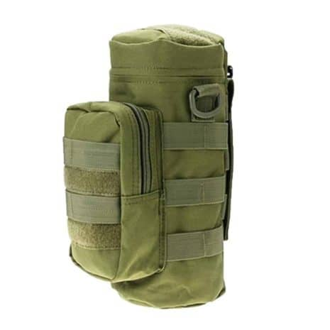 Water bottle pouch Molle - Green