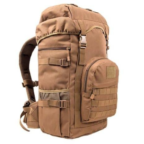 Khaki Military Hiking Backpack