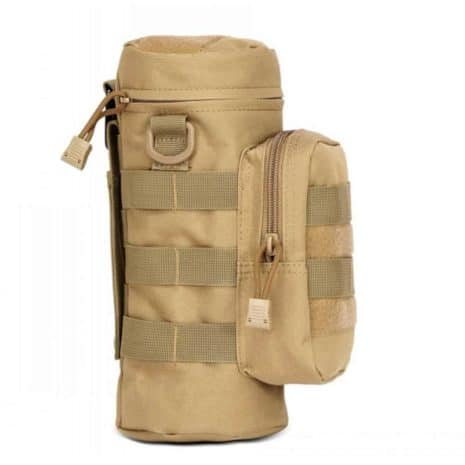 water bottle holder hiking Molle - Khaki