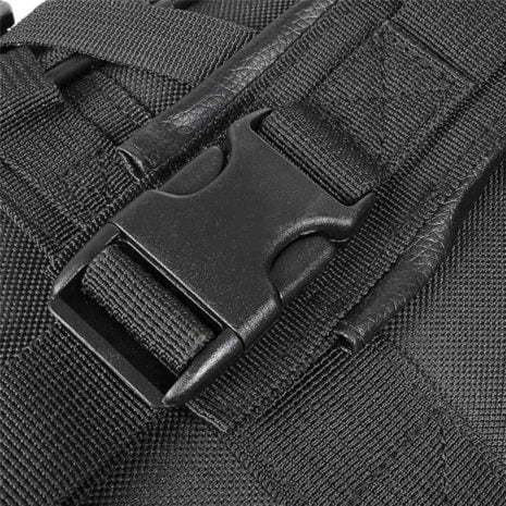 Tactical rifle backpack made with strong clips Breezbox