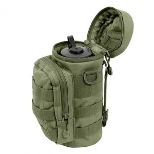 Tactical MOLLE Water Bottle Pouch for Backpack