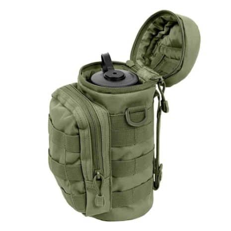 water bottle holder green